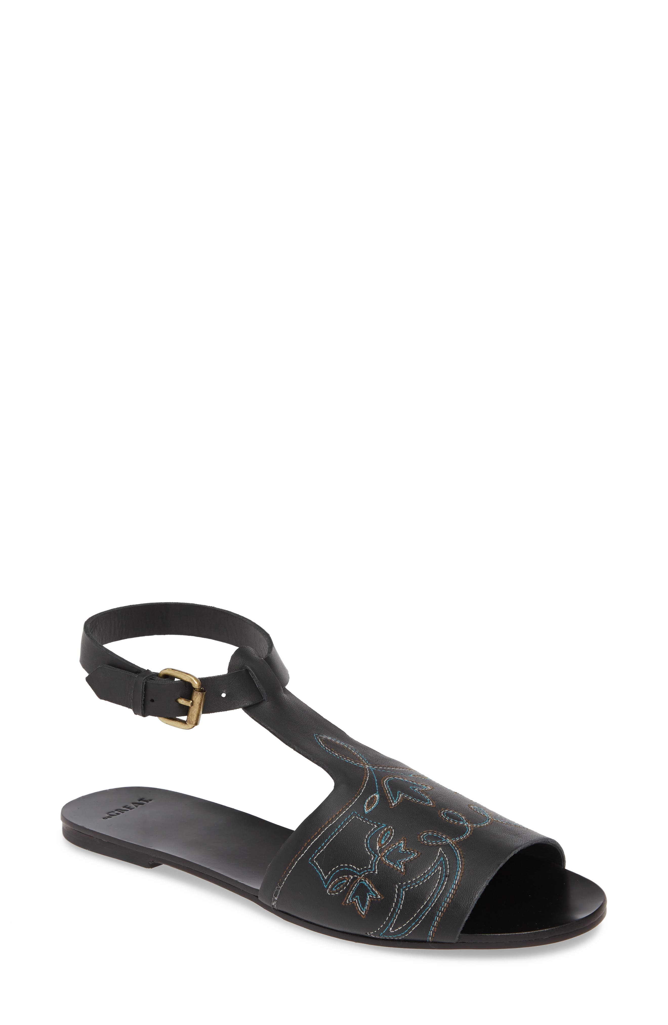 The Great. The Western Sandal, Black