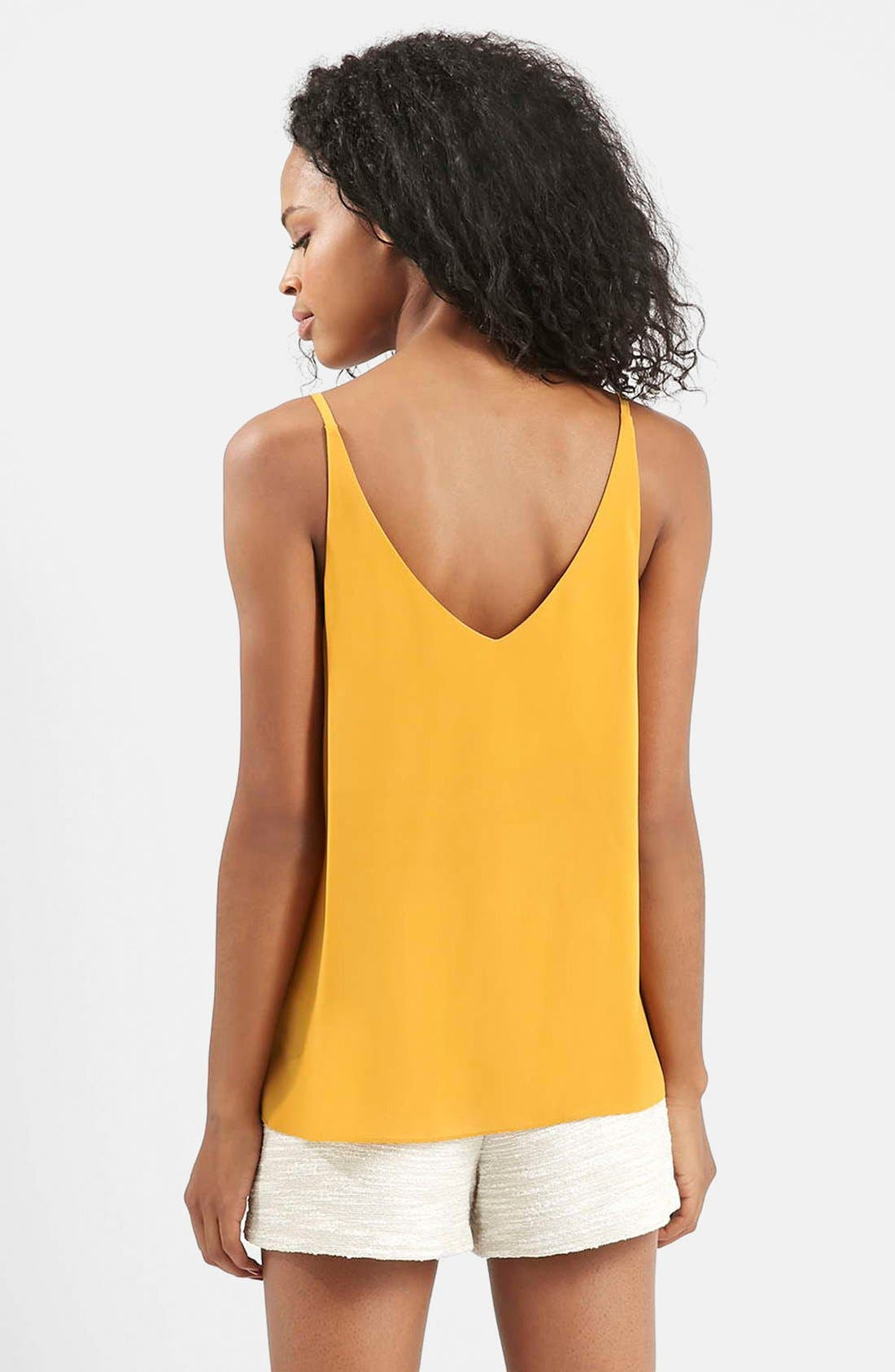 ,                             Strappy V-Neck Camisole,                             Alternate thumbnail 77, color,                             720