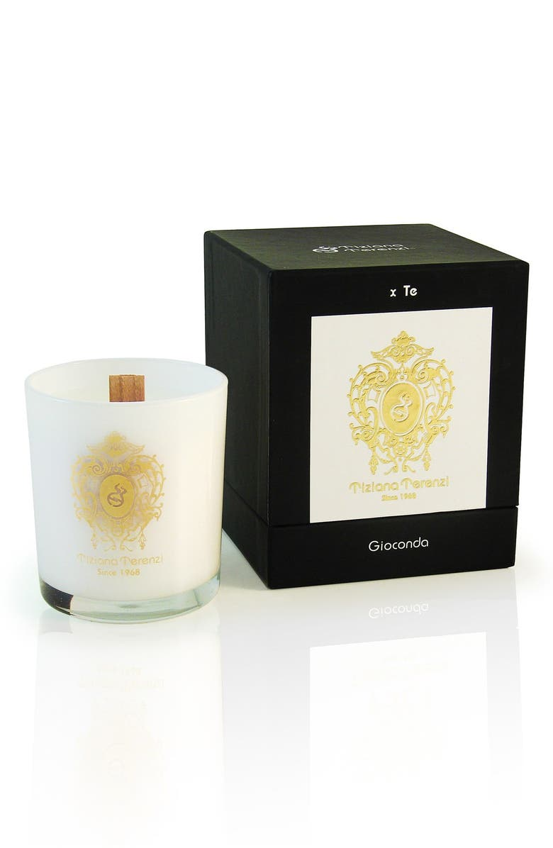 TIZIANA TERENZI 'White Fire' Single Wick Gioconda Candle, Main, color, 000
