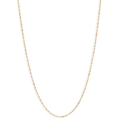 Bony Levy 14K Gold Twisted Chain Necklace (Nordstrom Exclusive)