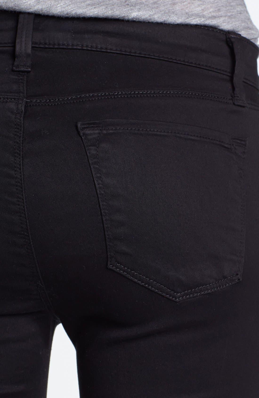 ,                             '485' Mid Rise Super Skinny Jeans,                             Alternate thumbnail 6, color,                             002