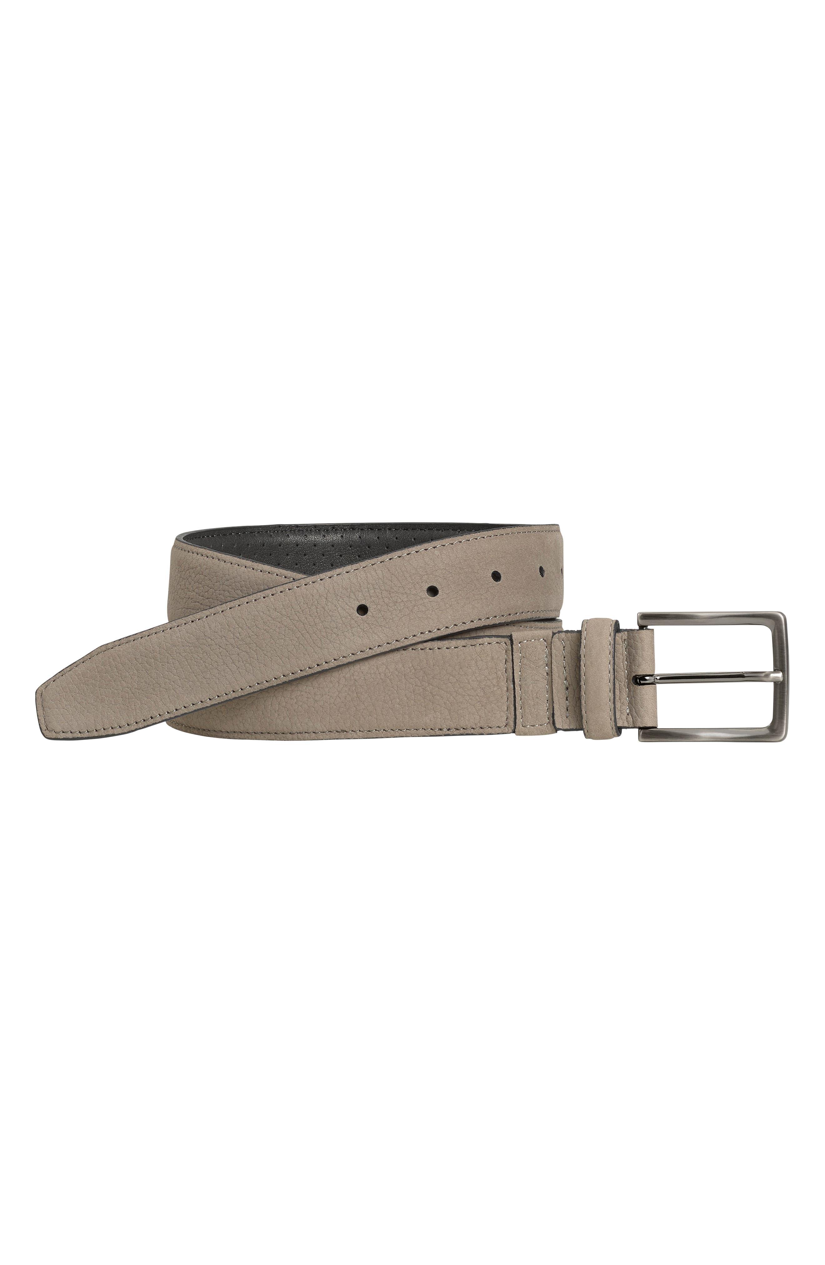Xc4 Leather Dress Belt