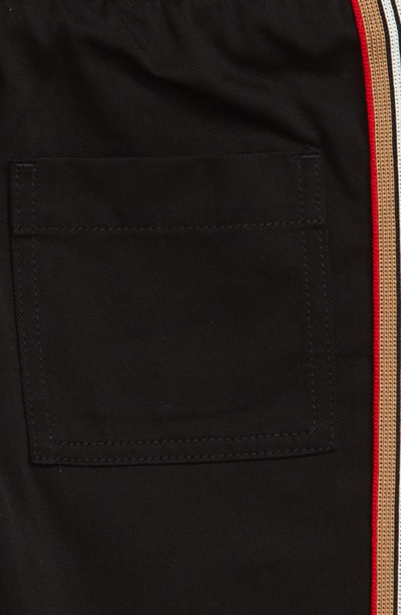 ,                             Curran Icon Woven Pants,                             Alternate thumbnail 3, color,                             BLACK