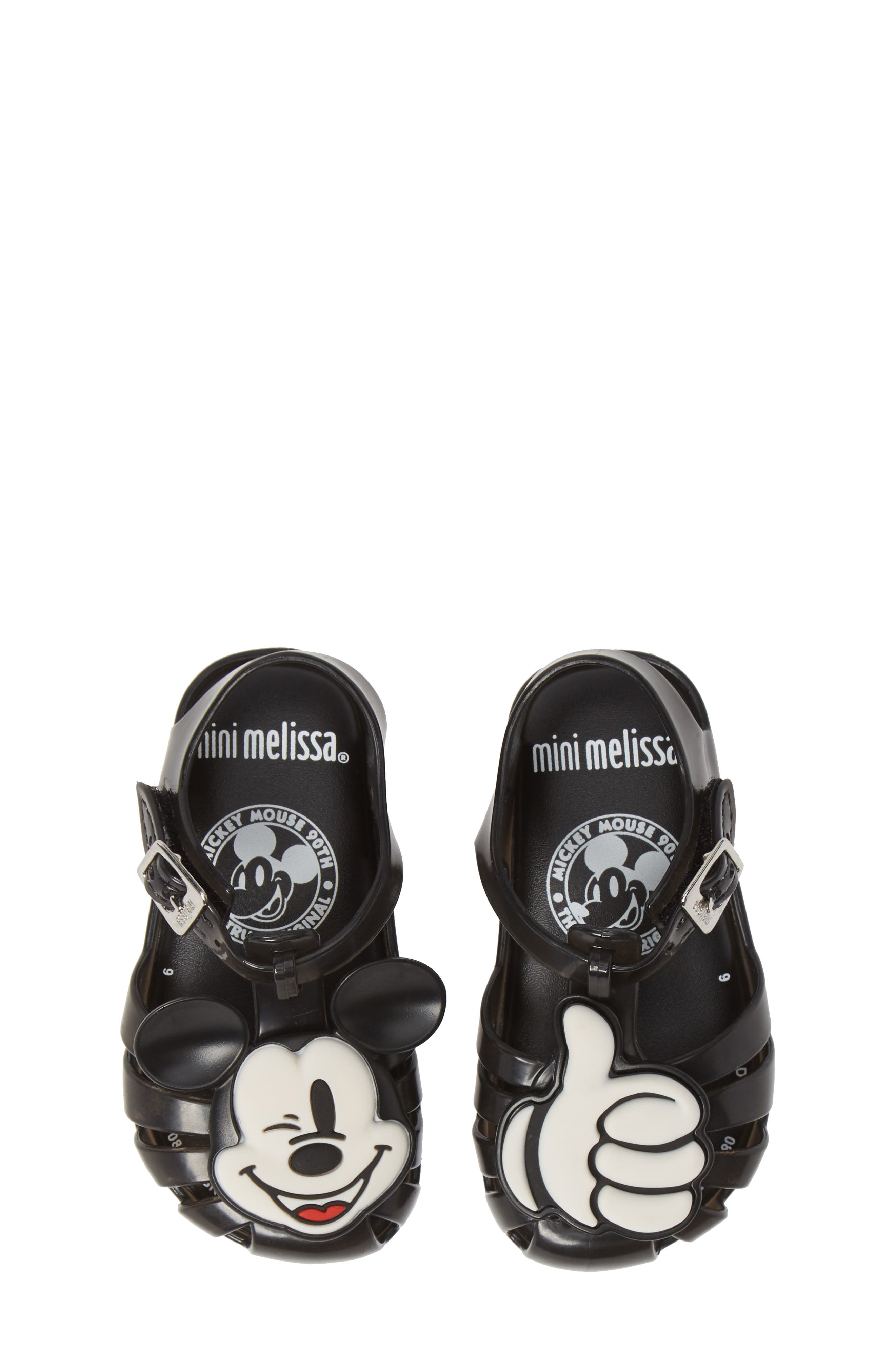 ,                             Aranha + Mickey Fisherman Sandal,                             Main thumbnail 1, color,                             BLACK