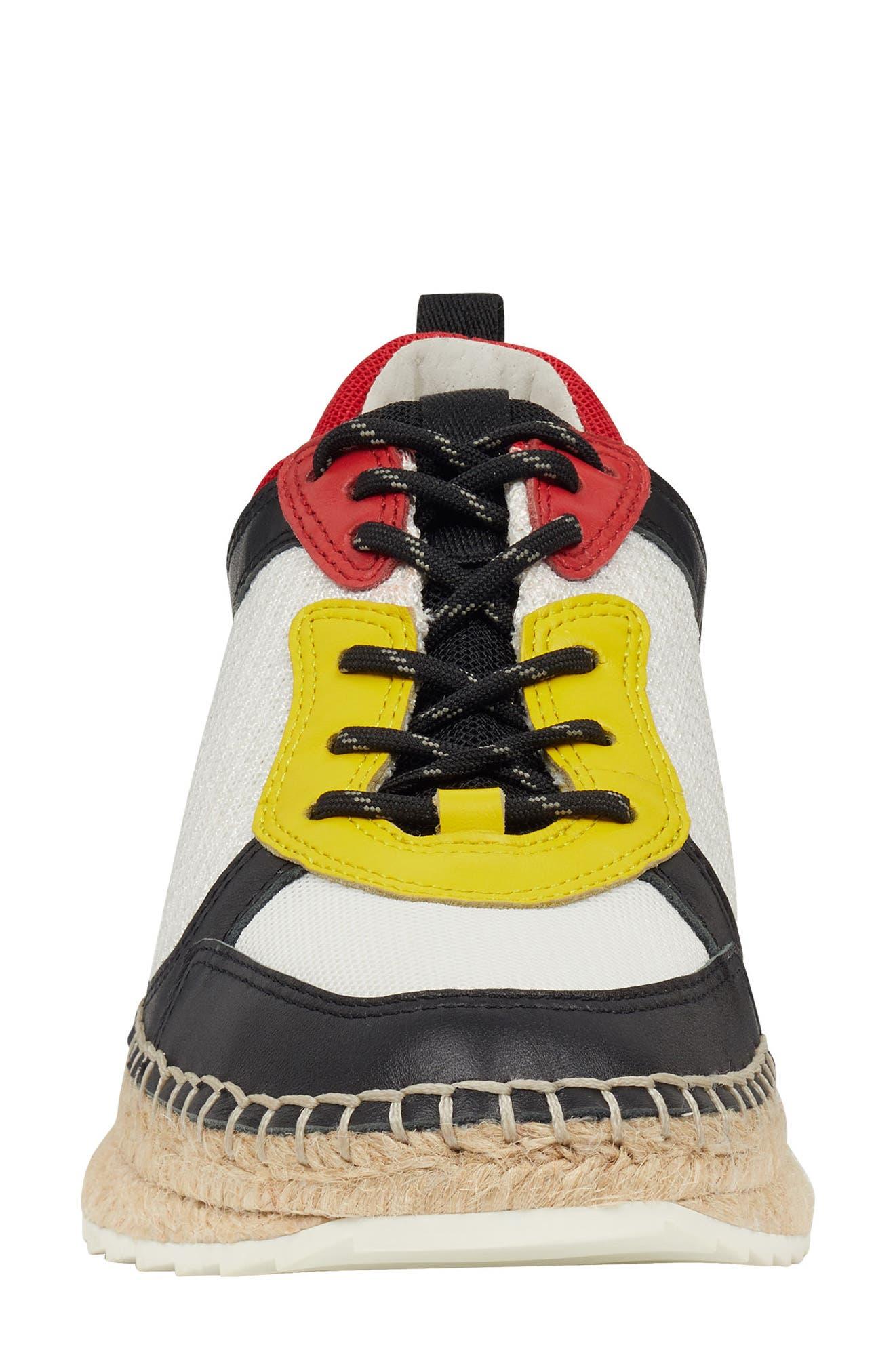 ,                             Janette Espadrille Sneaker,                             Alternate thumbnail 4, color,                             001