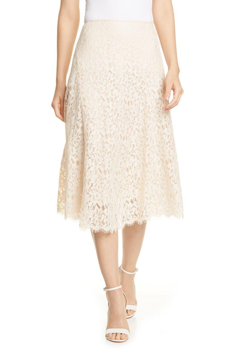LEWIT Lace Skirt, Main, color, 270