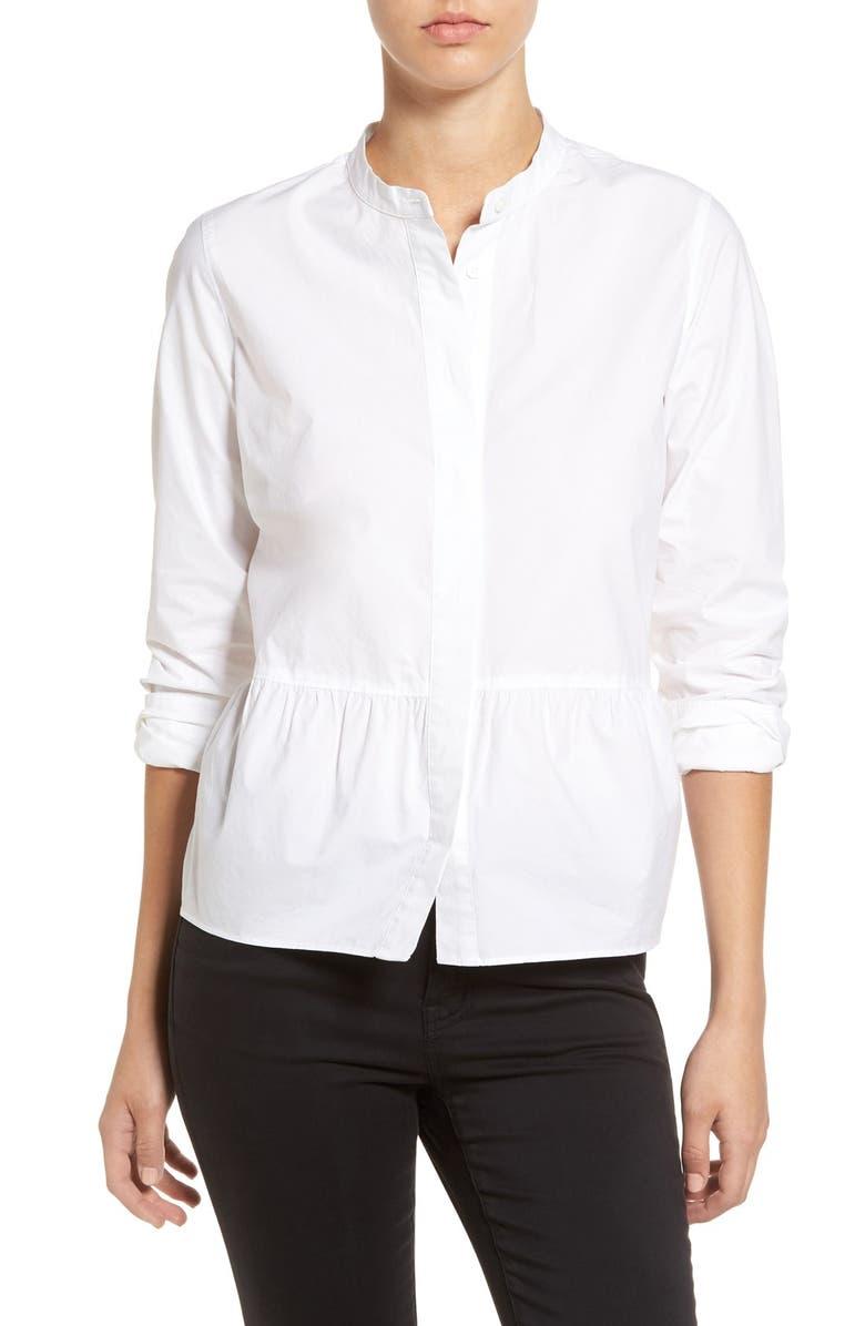 5b31a9dff12319 Madewell Peplum Shirt | Nordstrom