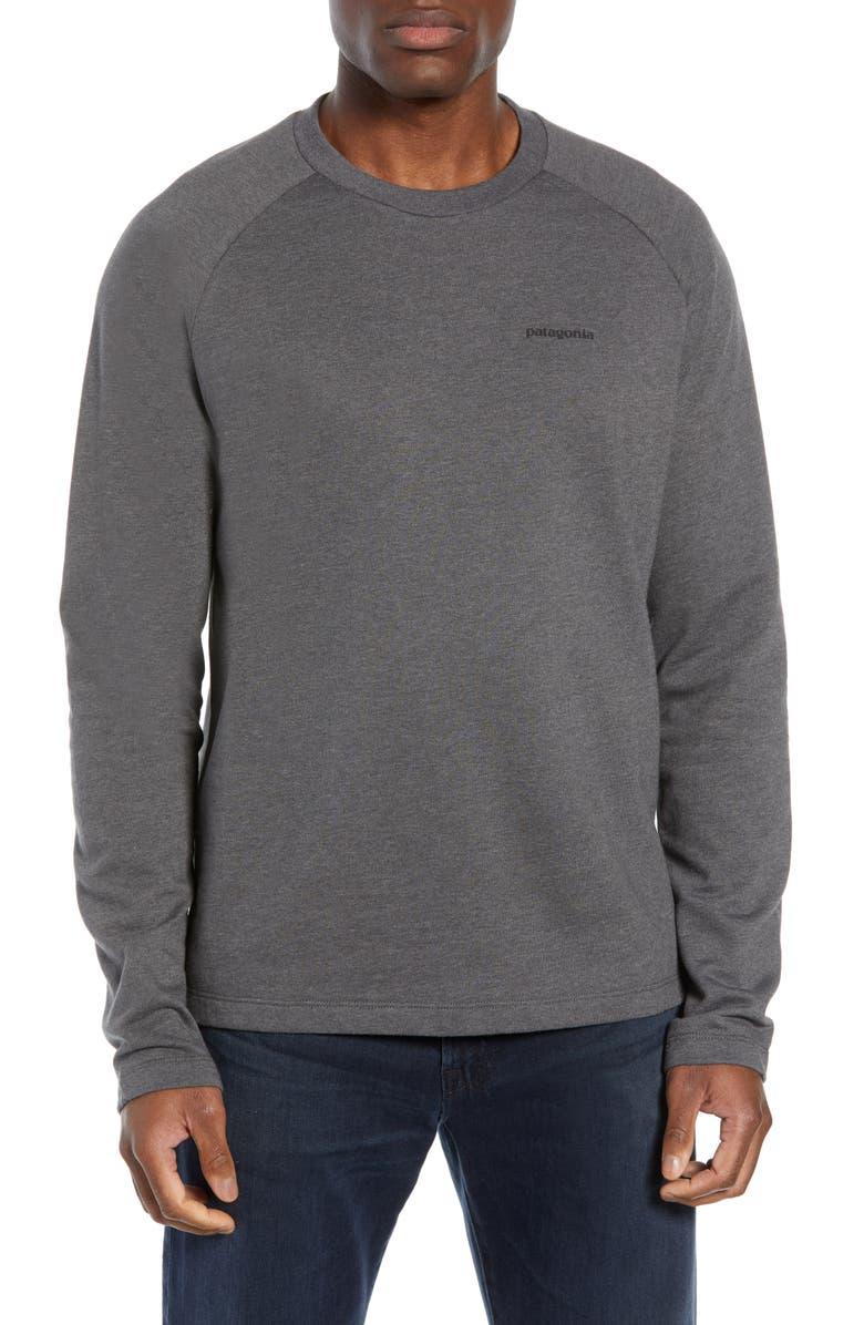 PATAGONIA P-6 Logo Regular Fit Lightweight Sweatshirt, Main, color, 021