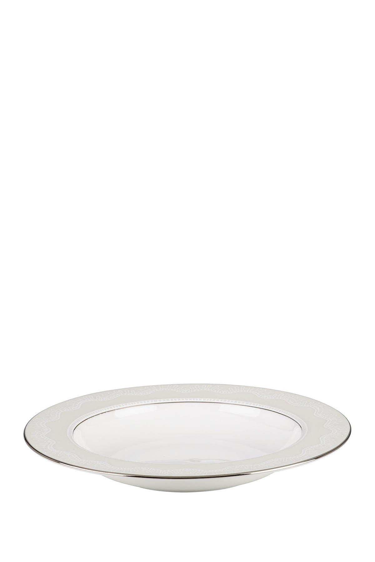 Image of kate spade new york platinum/white chapel hill pasta bowl