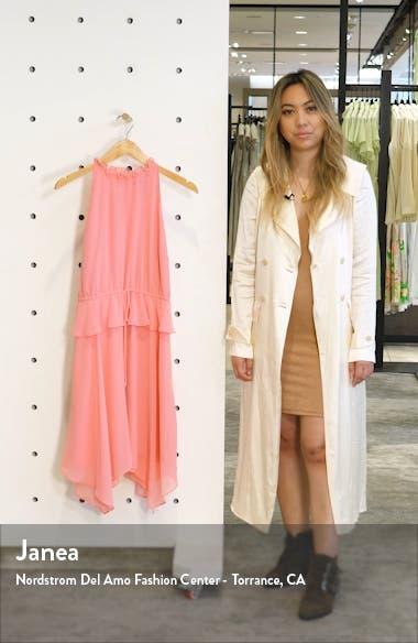 Peplum Chiffon Dress, sales video thumbnail