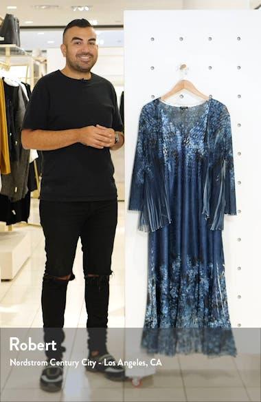 Floral MIdi Dress with Long Sleeve Jacket, sales video thumbnail