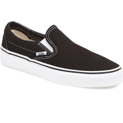 Vans Classic Slip-On Sneaker, Black