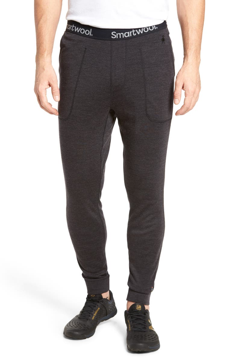 SMARTWOOL Merino 250 Wool Jogger Pants, Main, color, CHARCOAL