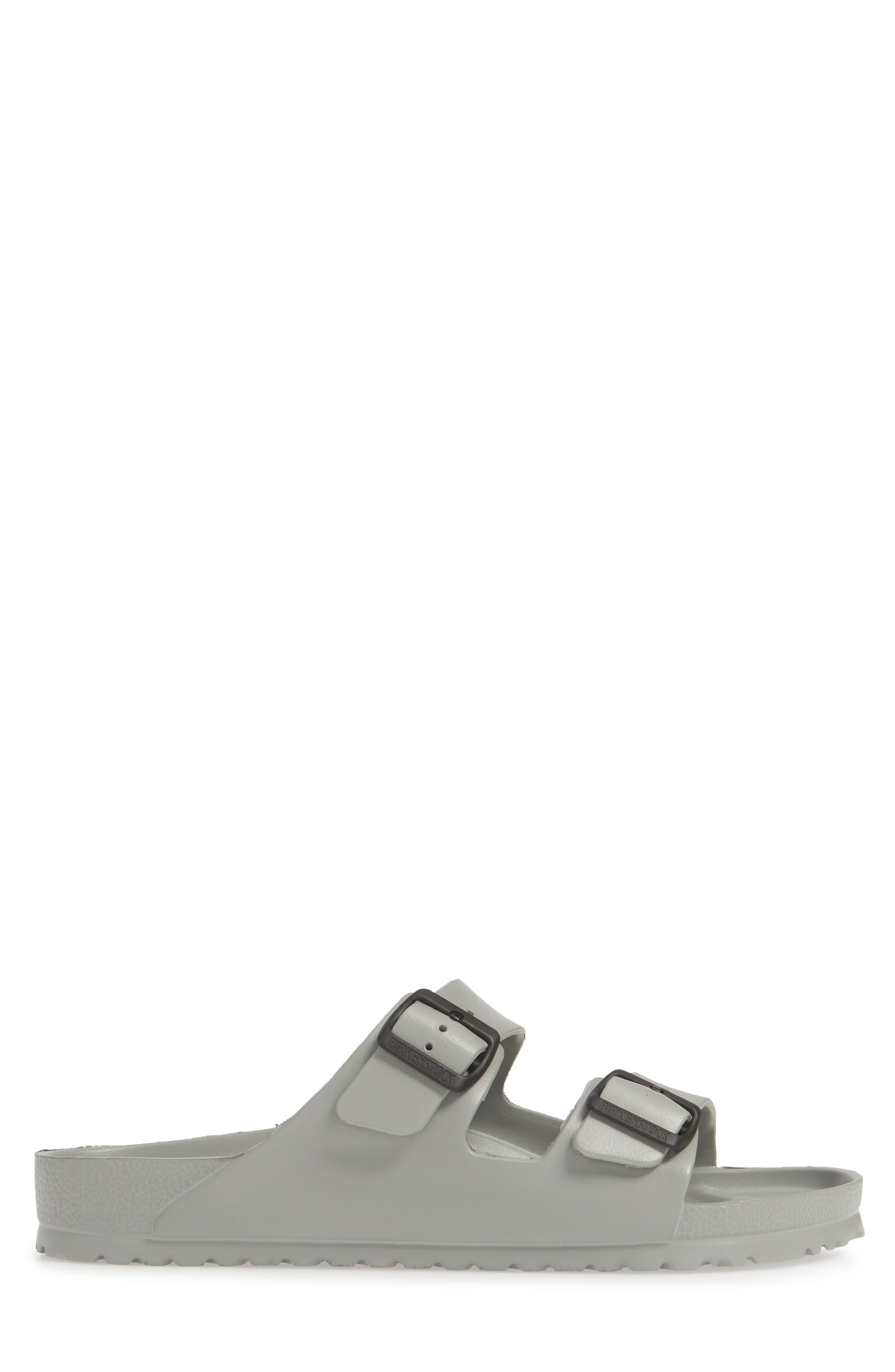 ,                             Essentials Arizona EVA Waterproof Slide Sandal,                             Alternate thumbnail 3, color,                             SEAL GRAY