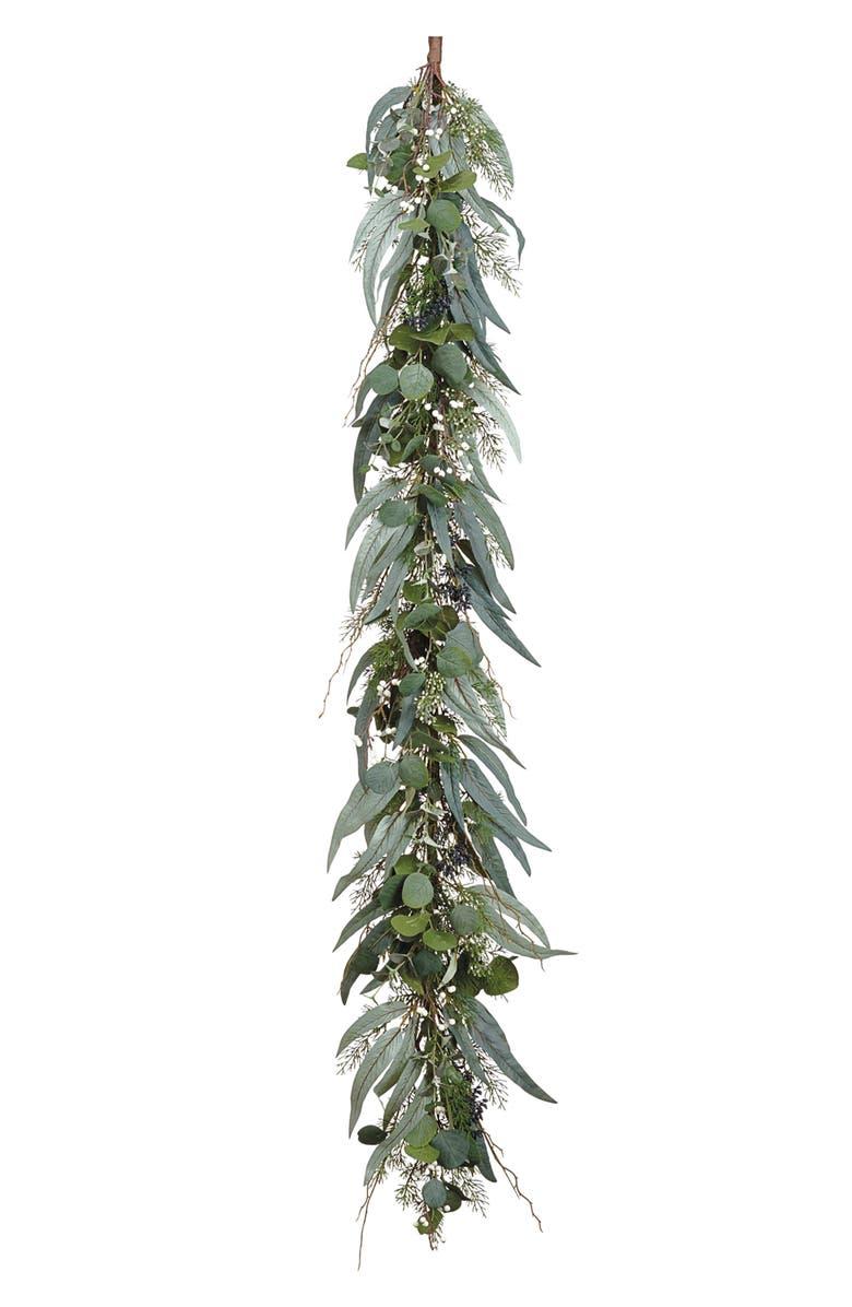 ALLSTATE Eucalyptus, Berry & Pine Garland, Main, color, 300