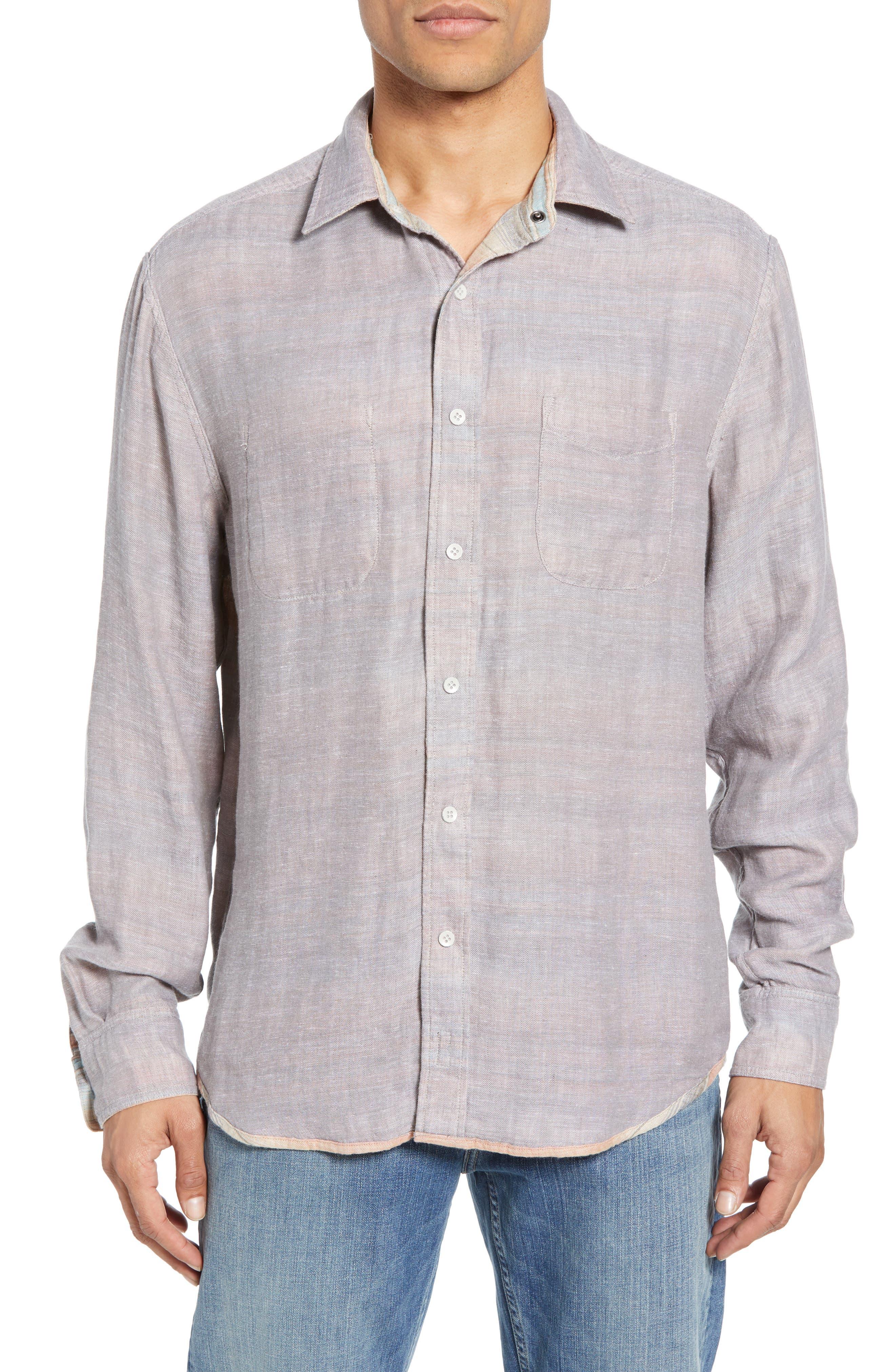 ,                             Belmar Regular Fit Reversible Shirt,                             Alternate thumbnail 2, color,                             EVENING PLAYA