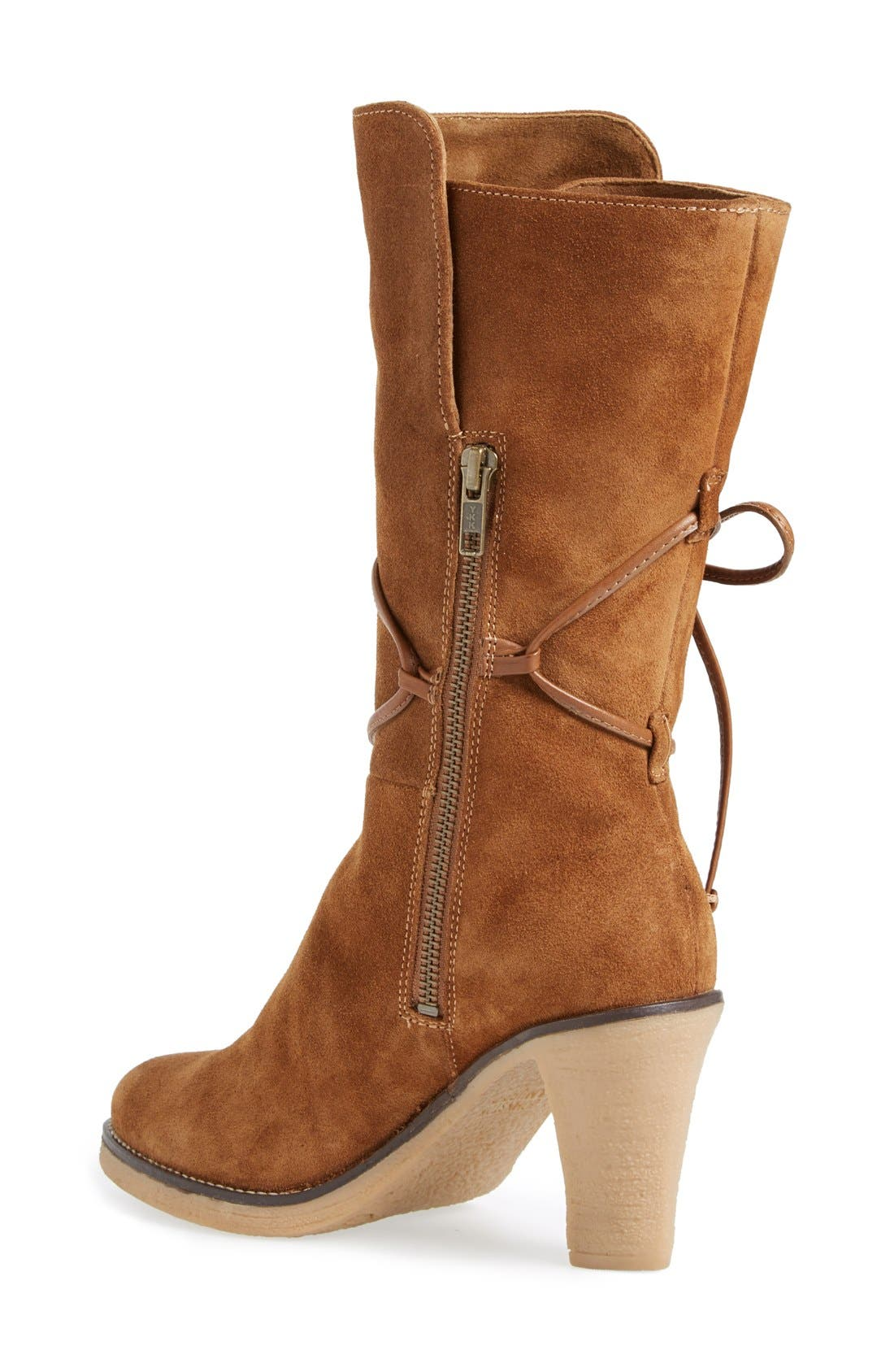 ,                             'Jeanie' Mid Calf Boot,                             Alternate thumbnail 11, color,                             741