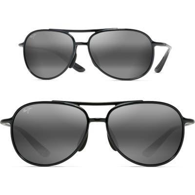 Maui Jim Alelele 60mm Aviator Sunglasses -