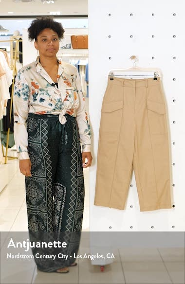 Cropped Utility Trousers, sales video thumbnail