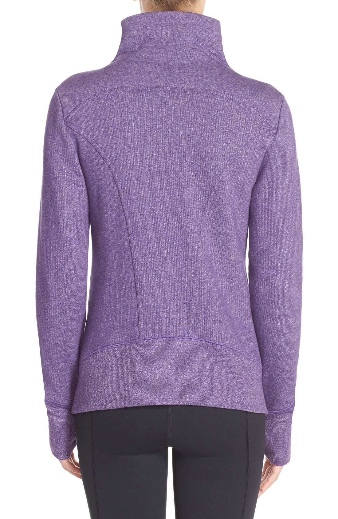 ,                             'Snowdrift' Asymmetrical Zip Sweatshirt,                             Alternate thumbnail 20, color,                             501