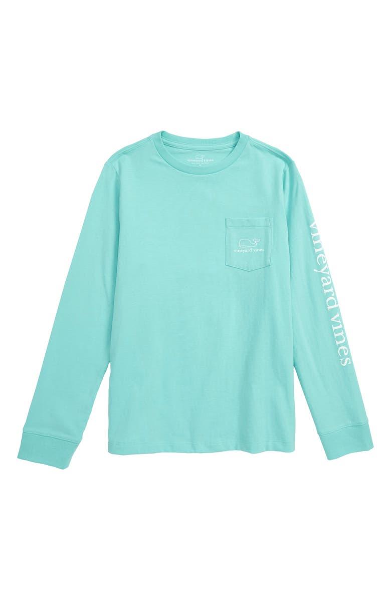 ca791147 vineyard vines Vintage Whale Graphic Long Sleeve T-Shirt (Big Boys ...