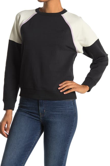 Image of Levi's Everyday Raglan Colorblock Sweatshirt