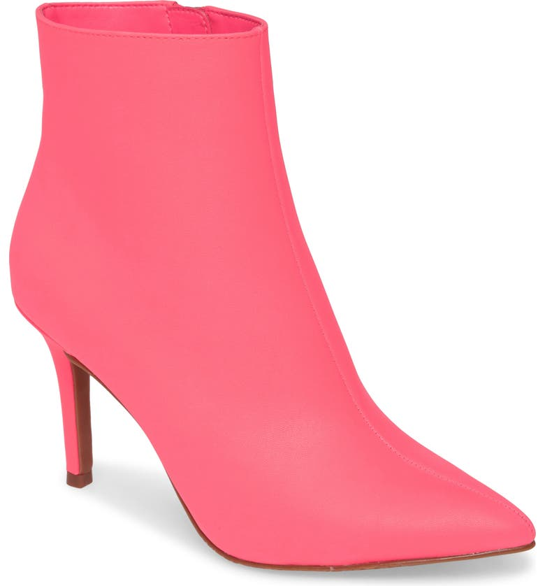 BP. Maisie Bootie, Main, color, NEON PINK FAUX LEATHER
