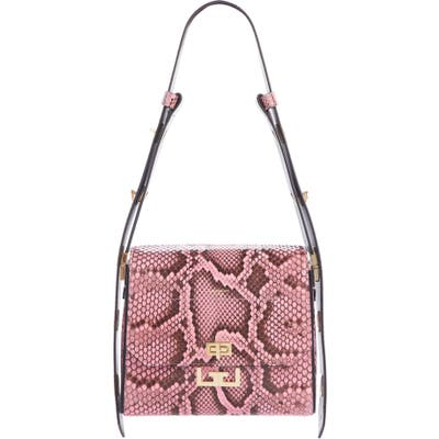 Givenchy Medium Eden Genuine Python Shoulder Bag -