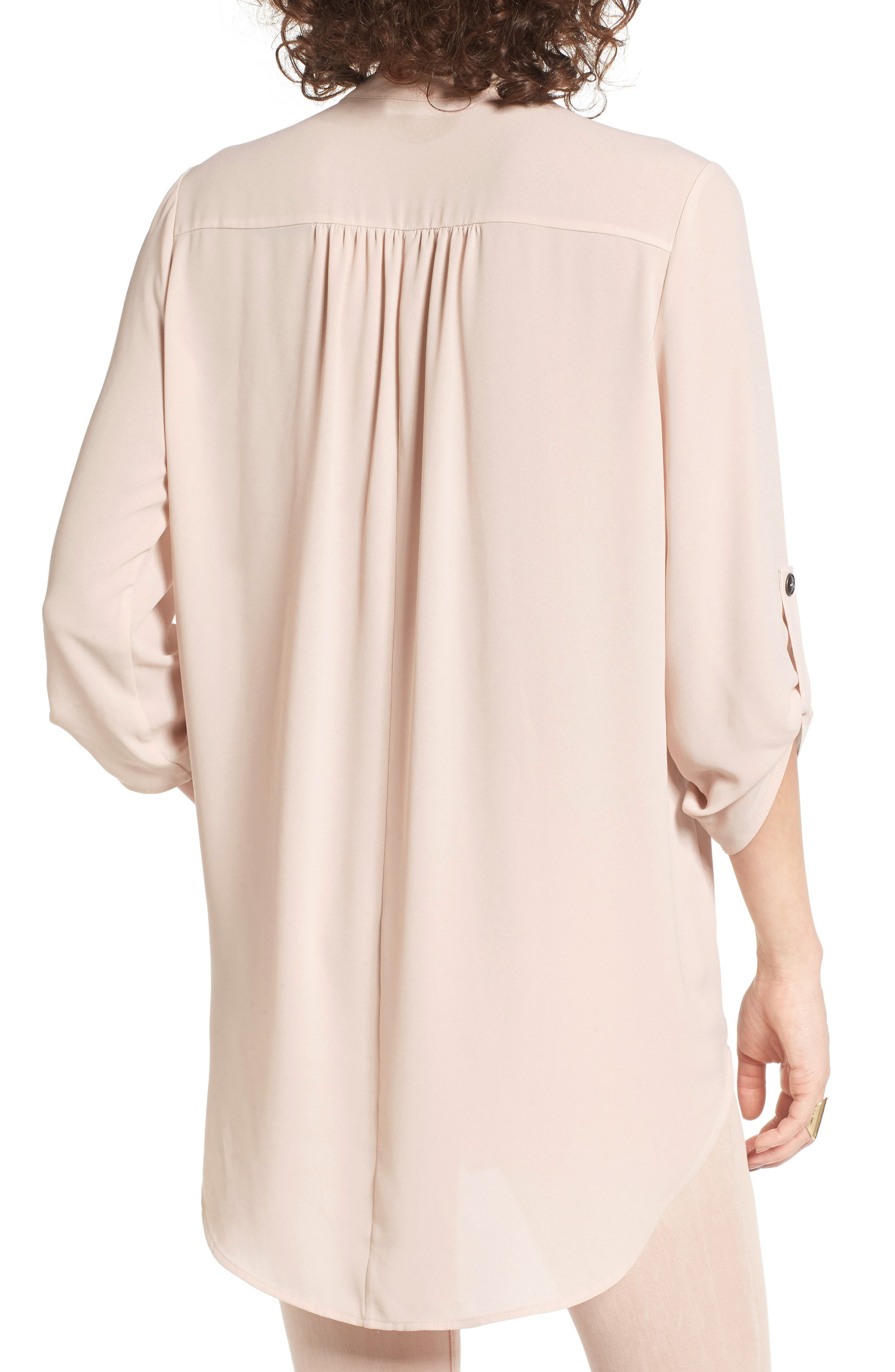 ,                             Perfect Roll Tab Sleeve Tunic,                             Alternate thumbnail 400, color,                             698