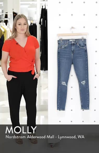 Jamie High Waist Ripped Jeans, sales video thumbnail
