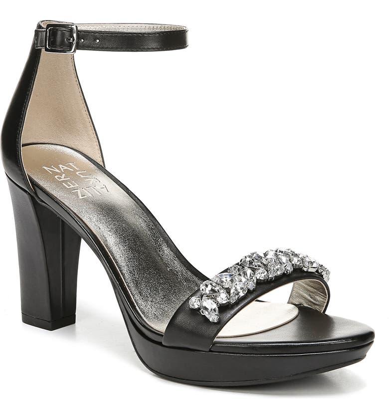 a952d3df75d Cassano Crystal Embellished Sandal