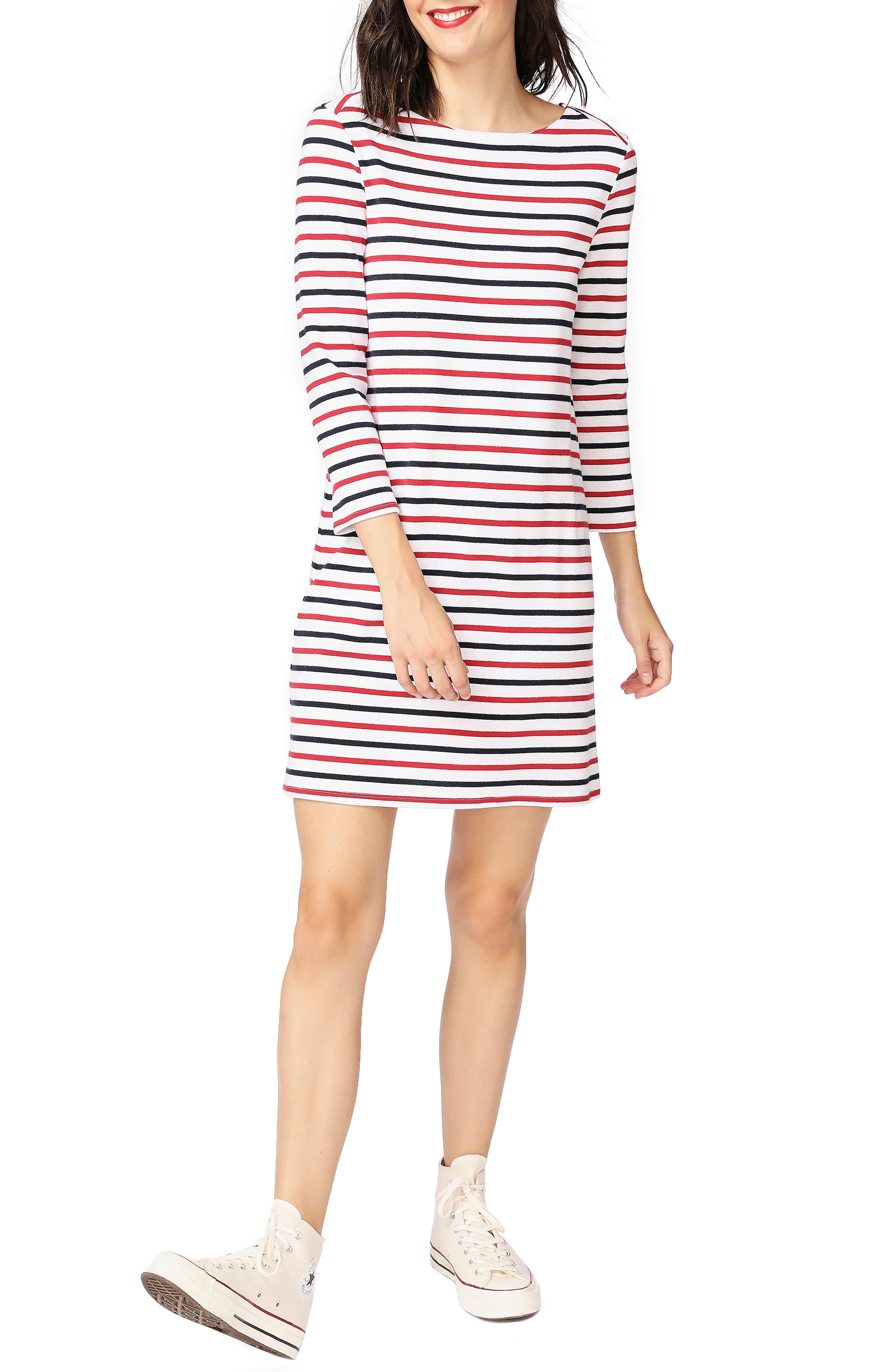 Dive Stripe Knit Dress