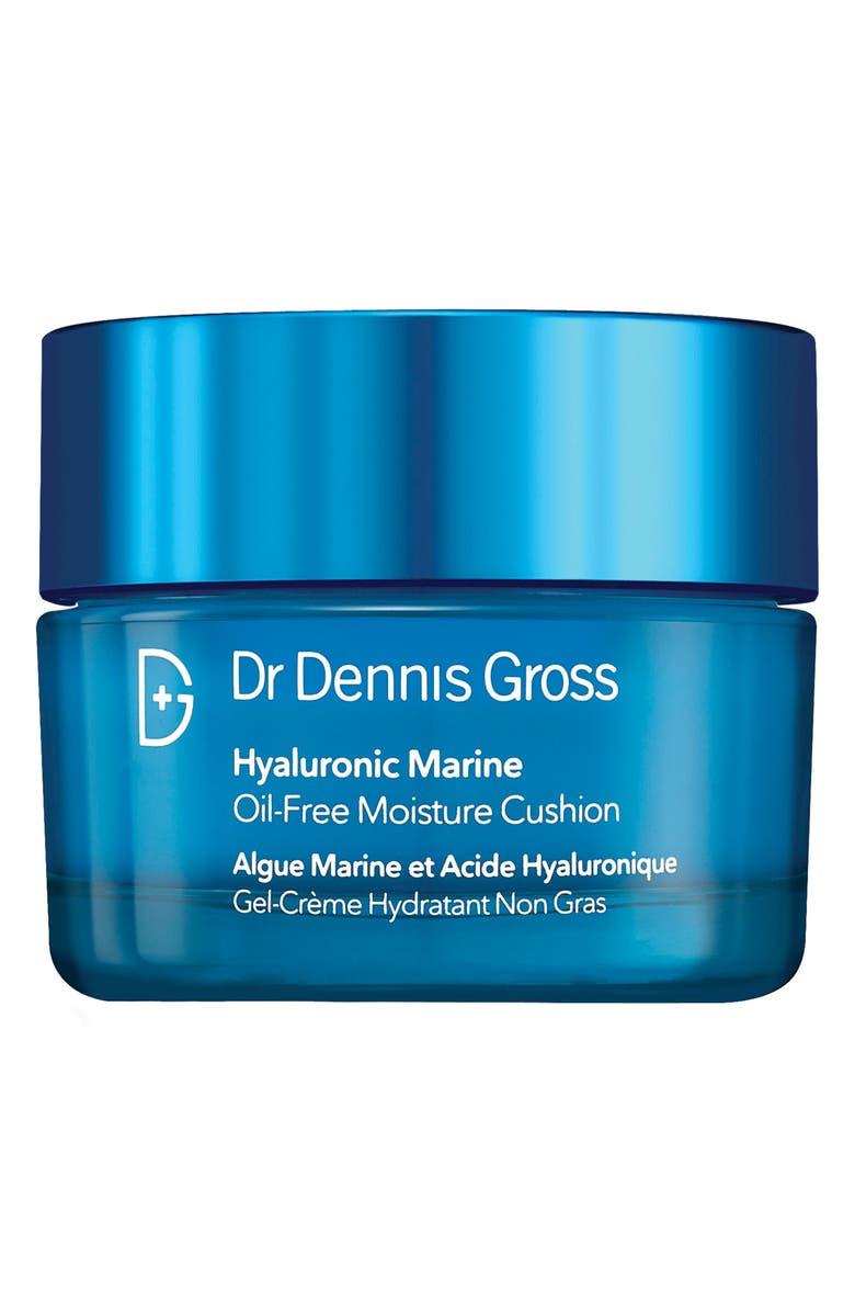 DR. DENNIS GROSS Skincare Hyaluronic Marine Oil Free Moisture Cushion Gel Cream, Main, color, 000