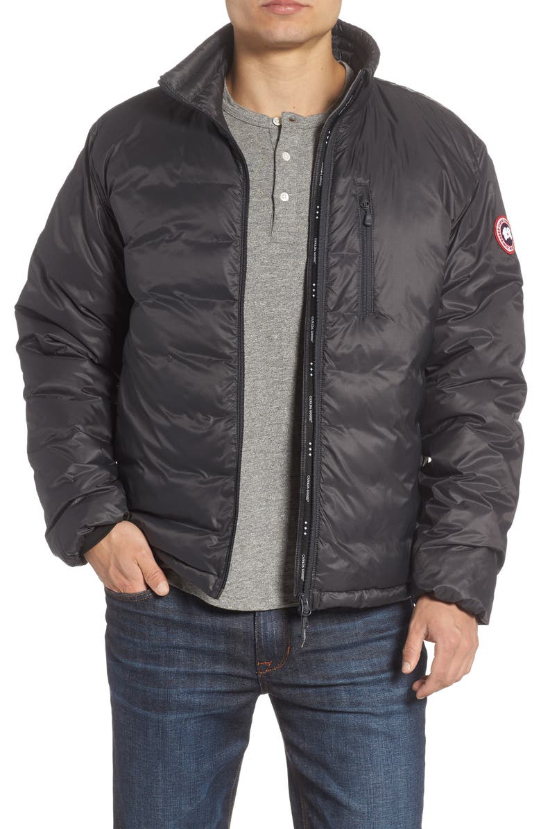 CANADA GOOSE 'Lodge' Slim Fit Packable Windproof 750 Down Fill Jacket, Main, color, 028