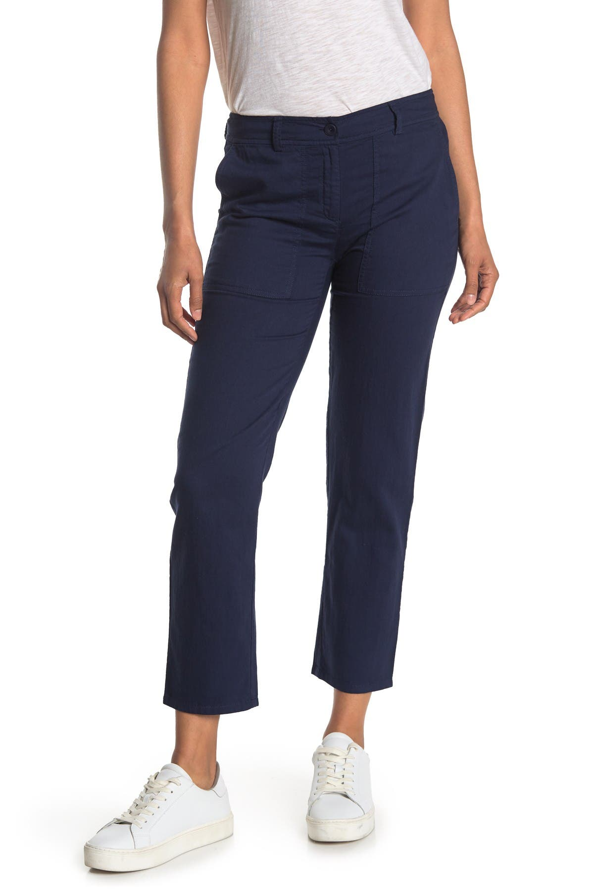 Image of Eileen Fisher Slouchy Ankle Pants
