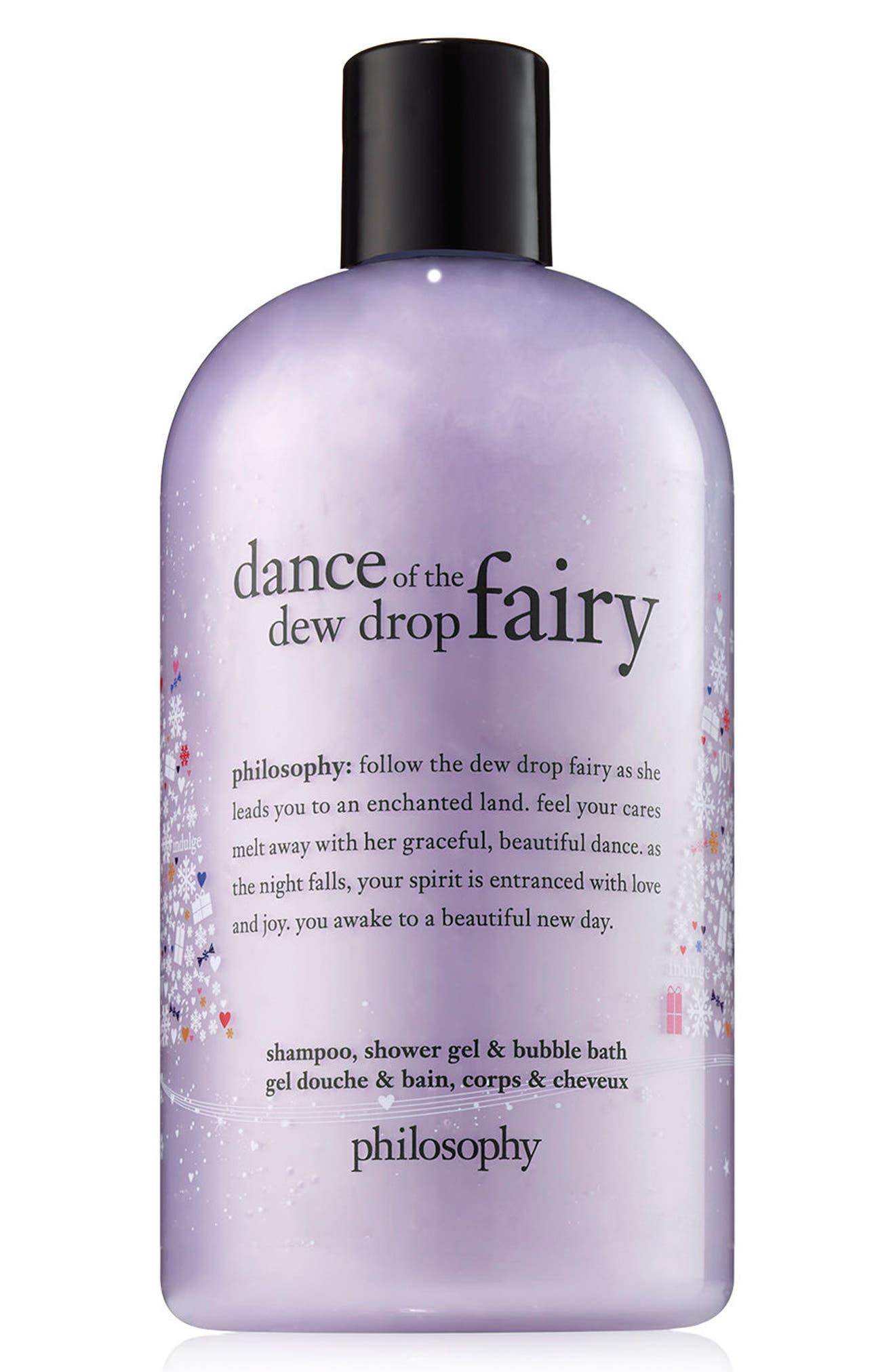Image of philosophy dance of the dewdrop fairy shampoo, shower gel & bubble bath