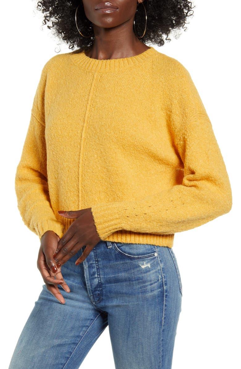 VERO MODA Crop Sweater, Main, color, 700