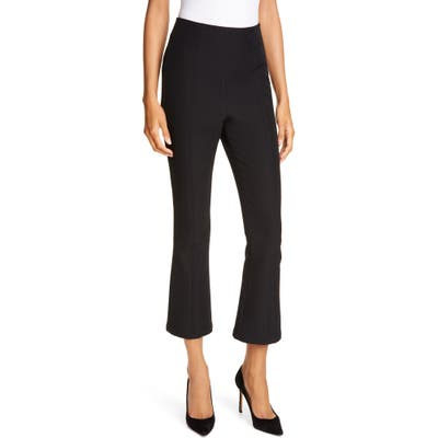 A.l.c. Drew Crop Flare Pants, Black