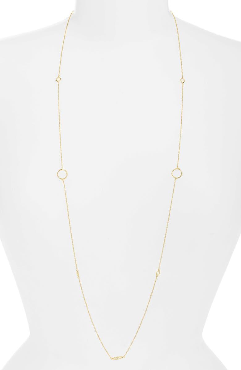 GORJANA Quinn Wrap Necklace, Main, color, GOLD