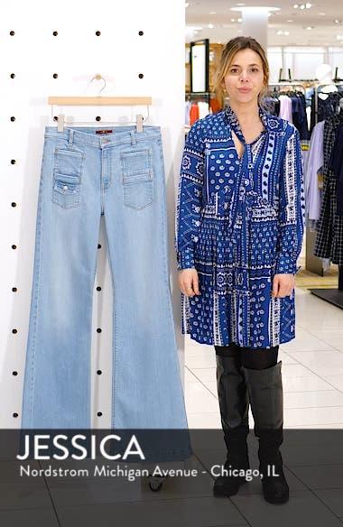 Georgia High Waist Flare Jeans, sales video thumbnail