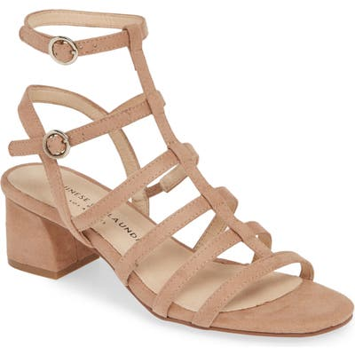 Chinese Laundry Monroe Strappy Cage Sandal, Beige