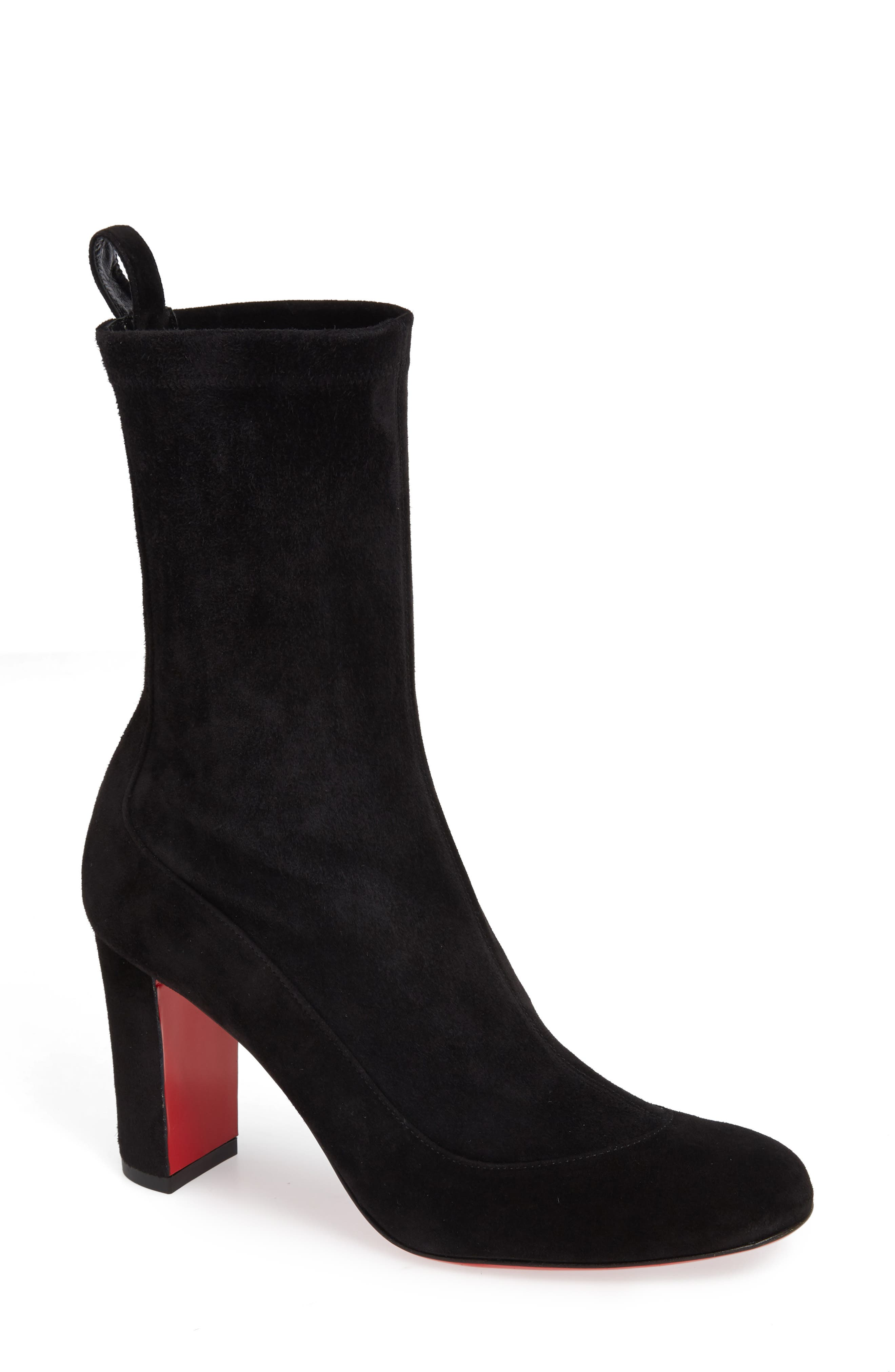 Christian Louboutin Gena Stretch Shaft Bootie