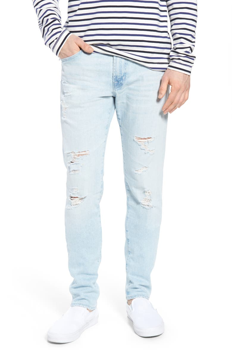 AG Dylan Skinny Fit Jeans, Main, color, 400