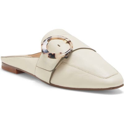 Louise Et Cie Brileigh Buckle Mule- Ivory