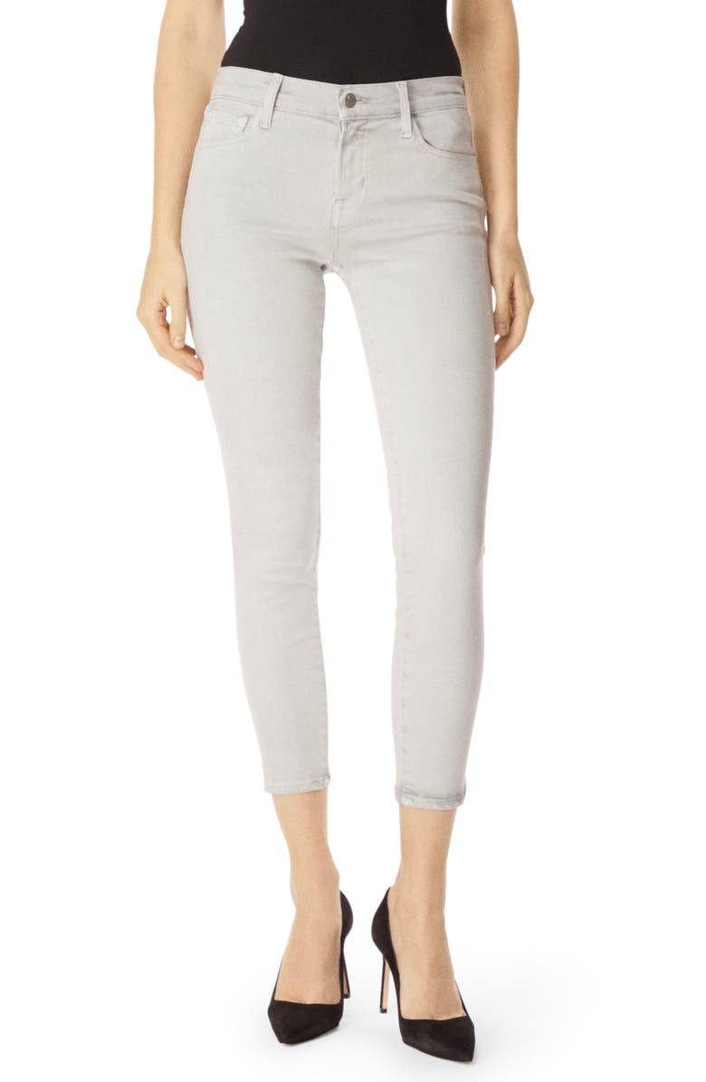 J BRAND 835 Crop Skinny Jeans, Main, color, MISTED