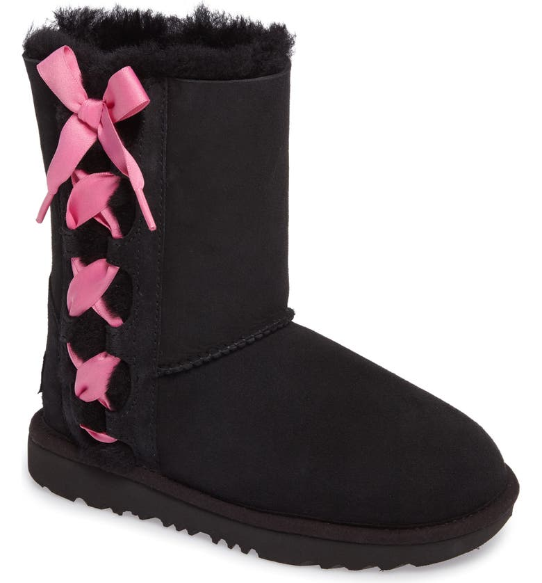 UGG<SUP>®</SUP> Pala Water-Resistant Genuine Shearling Boot, Main, color, 001