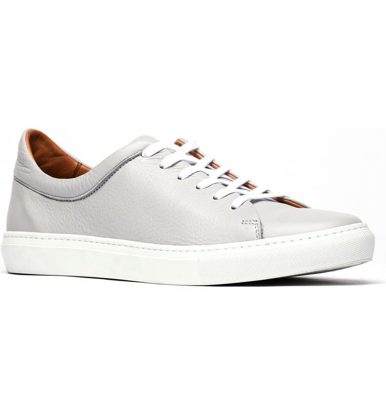 RODD & GUNN Windemere Sneaker, Main, color, STONE LEATHER