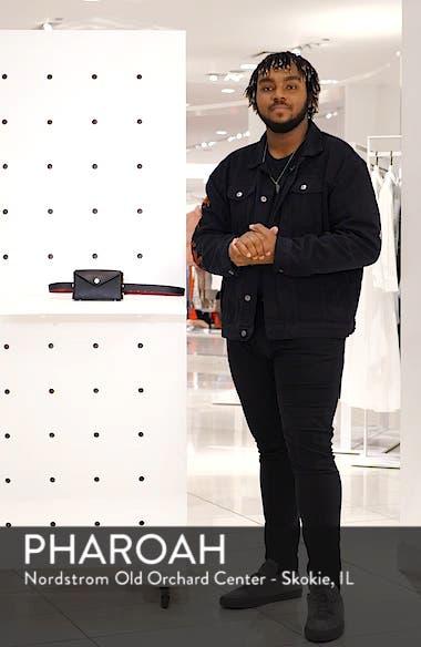 Atlas Leather Belt Bag, sales video thumbnail