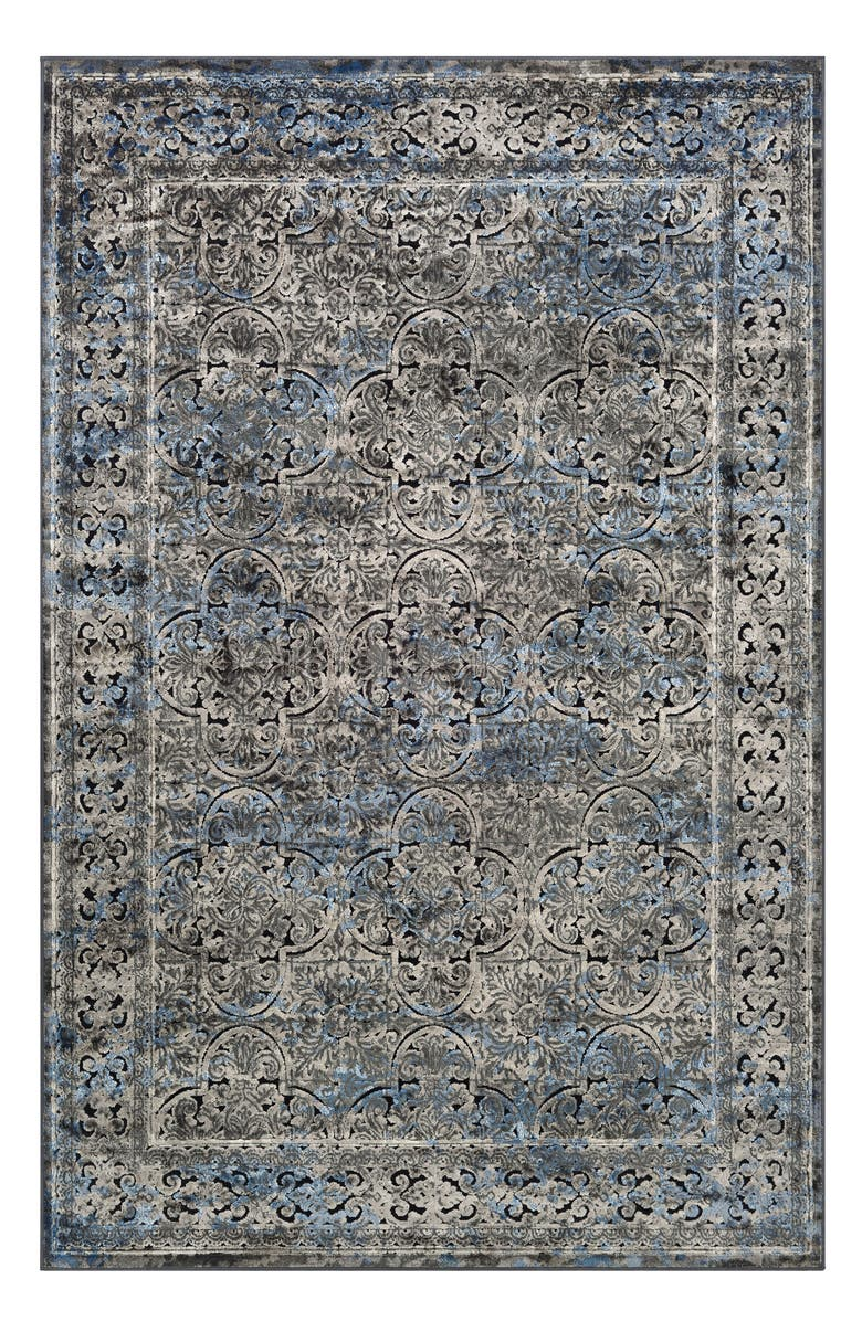 COURISTAN Cire Damsel Area Rug, Main, color, BLUE/ MULTI