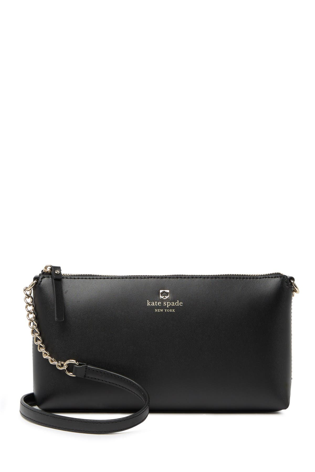 Image of kate spade new york sawyer street declan leather crossbody bag